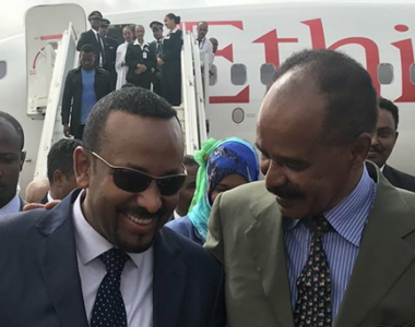 Ethiopian Airlines Lands in Asmara for the first time after 20 years