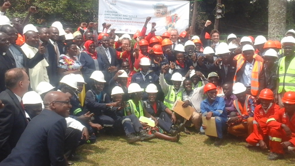 Uganda outs 220 welders for oil sector, more still needed
