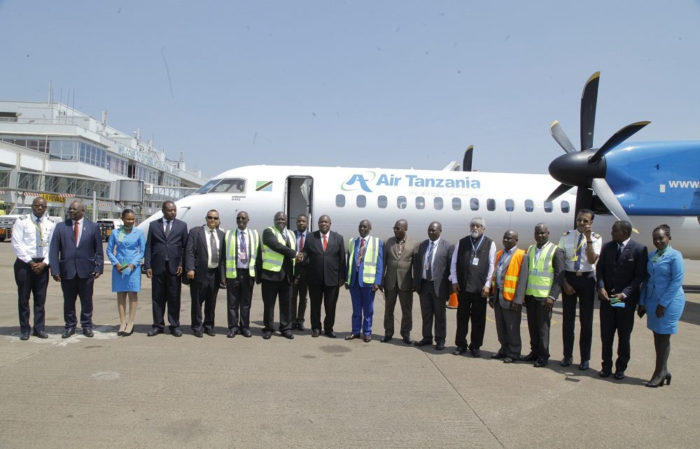 Air Tanzania returns to Entebbe International Airport after a decade