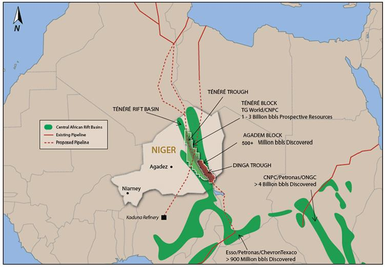 Oranto Petroleum, which recently signed an oil exploration license with Uganda, is expected to be granted oil exploration licenses for Blocks R5, R6, Dibella and Dallol by the Ministry of Petroleum of Niger to explore for oil.