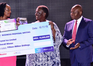 During the ceremony, three women entrepreneurs walked away with cash prizes of up to UGX 30,000,000 million