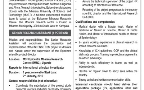 Britam Insurance Uganda in search for Human Resource Manager - East