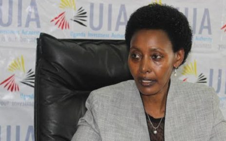 Former Uganda Investment Authority ED Jolly Kaguhangire that has been fired