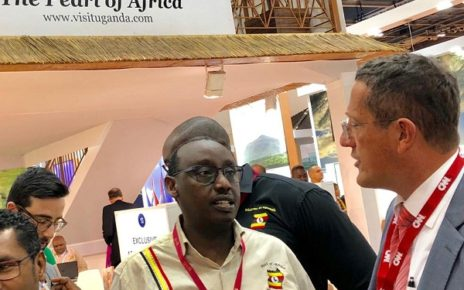 Richard Austin Quest,  an English journalist and a CNN International anchor and reporter, based in New York City was a surprise guest to the Ugandan