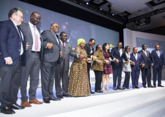 Participants at the close of the Africa Investment Forum