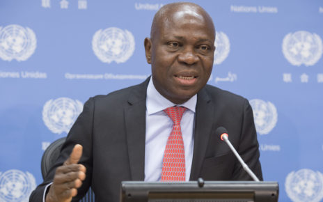 Noon Briefing Guest, Mr. Gilbert Houngbo, President of the International Fund for Agricultural Development (IFAD).