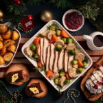 All 42 Emirates lounges across the network, including the 7 lounges in Dubai International Airport will be serving a range of traditional Christmas dishes