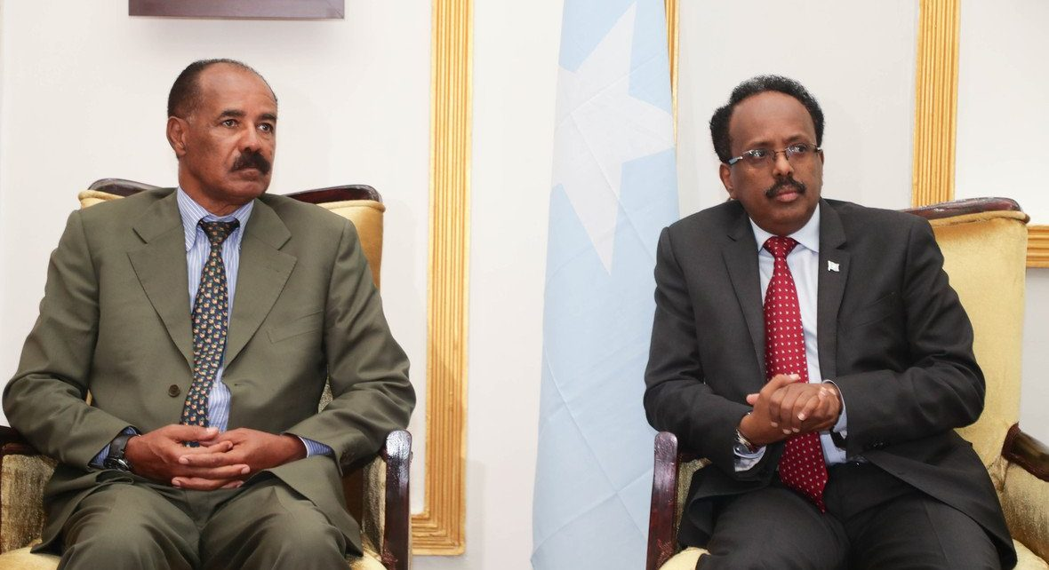 The two presidents held a two-day consultation meeting at Villa Somalia in Mogadishu on December 13th to 14th