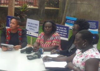 According to the Uganda Demographic Health Survey report for the year 2011, 56% of women aged between 15 and 49 years have experienced physical violence at some point in life