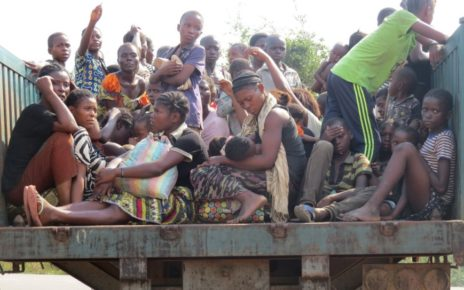 """""""As a result of civil wars and other civil strifes, a lot of Africans are displaced"""""""
