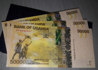 The Uganda shilling lingered within the 3660/3680 bracket on Wednesday amidst minimal activity on the demand and supply counters.