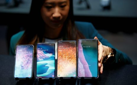 The newly unveiled products consist of three models -- the cheaper S10e, the standard S10 and the S10 Plus