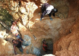 Tanzanian Royalty Exploration Corporation has the drill spinning for phase one of a three-phase drilling program at the Buckreef Gold Project in Tanzania. The program is being carried out by contractors Core-worthy and STAMICO.