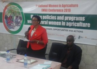 Minister Namuganza promised them that her ministry will work with the Ministry of Agriculture to come up with special agriculture programmes targeting Women especially those in the rural areas.