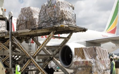 Ethiopian Airlines has the largest share, over 11%, of the total international cargo transportation at Baiyun International Airport in Guangzhou.