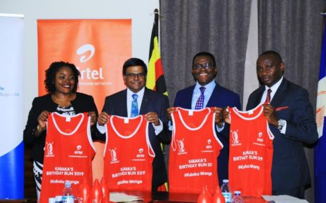 The Kabaka run - an annual event celebrated to mark the King's birthday – is part of a partnership that the telecommunications company has with the Buganda Kingdom to sponsor