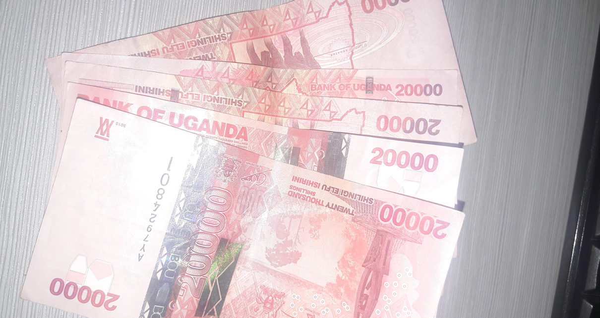 The Uganda shilling traded firmly against the dollar in yesterday's session as flows from offshore investors offered support.