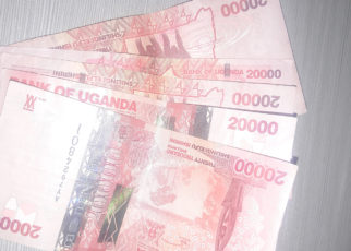The shilling edged lower on Thursday, failing to preserve its previously made gains,