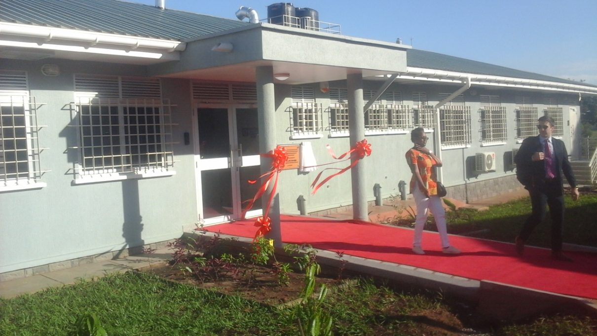 The new Laboratory commissioned at the National Livestock Resources Research Institute (NaliRRI) Nakyesesa, Namulonge in Wakiso District