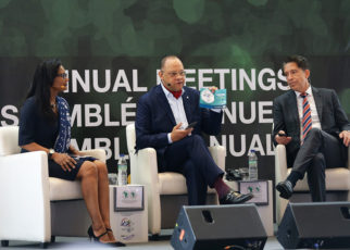 Scenes from the Financial Presentation Luncheon during day 3 of the AfDB Annual Meetings on 13 June 2019 in Malabo, Equatorial Guinea. (Photo by Czeasar Dancel)