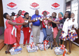 Omoth thanked all parents and guardians that have shared with Fresh Dairy all those special moment pictures of their children enjoying Fresh Dairy Yoghurt,