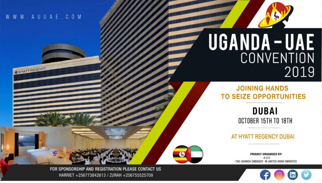 The theme for this year's Convention is in tandem with the theme for the Dubai Expo2020 in which Uganda chose the theme 'Park of Opportunity'.