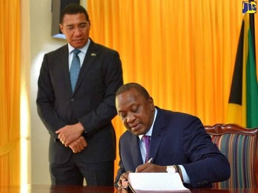 Kenya and Jamaica sign pact on Cultural Tourism