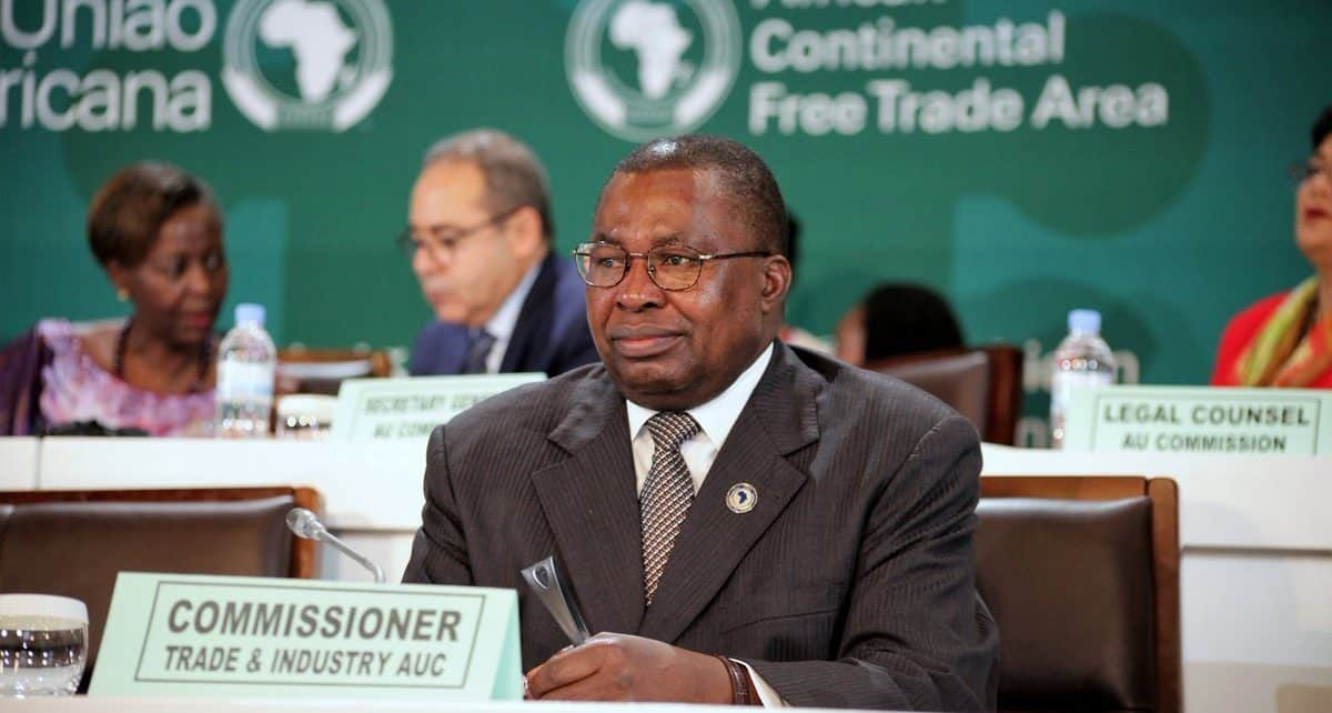 Albert Muchanga, AU's Commissioner for Trade and Industry