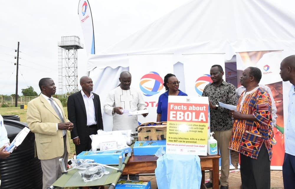 Total E&P Uganda has donated medical supplies to Buliisa District in a bid to support its Ebola response preparedness.